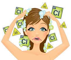 塩素でシャンプーしてるのですか?